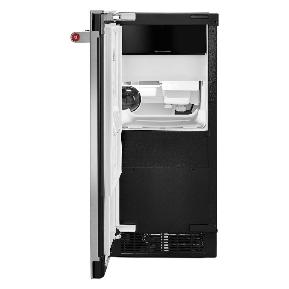 15 in. 50 lb. Built-In Ice Maker in PrintShield Stainless Steel