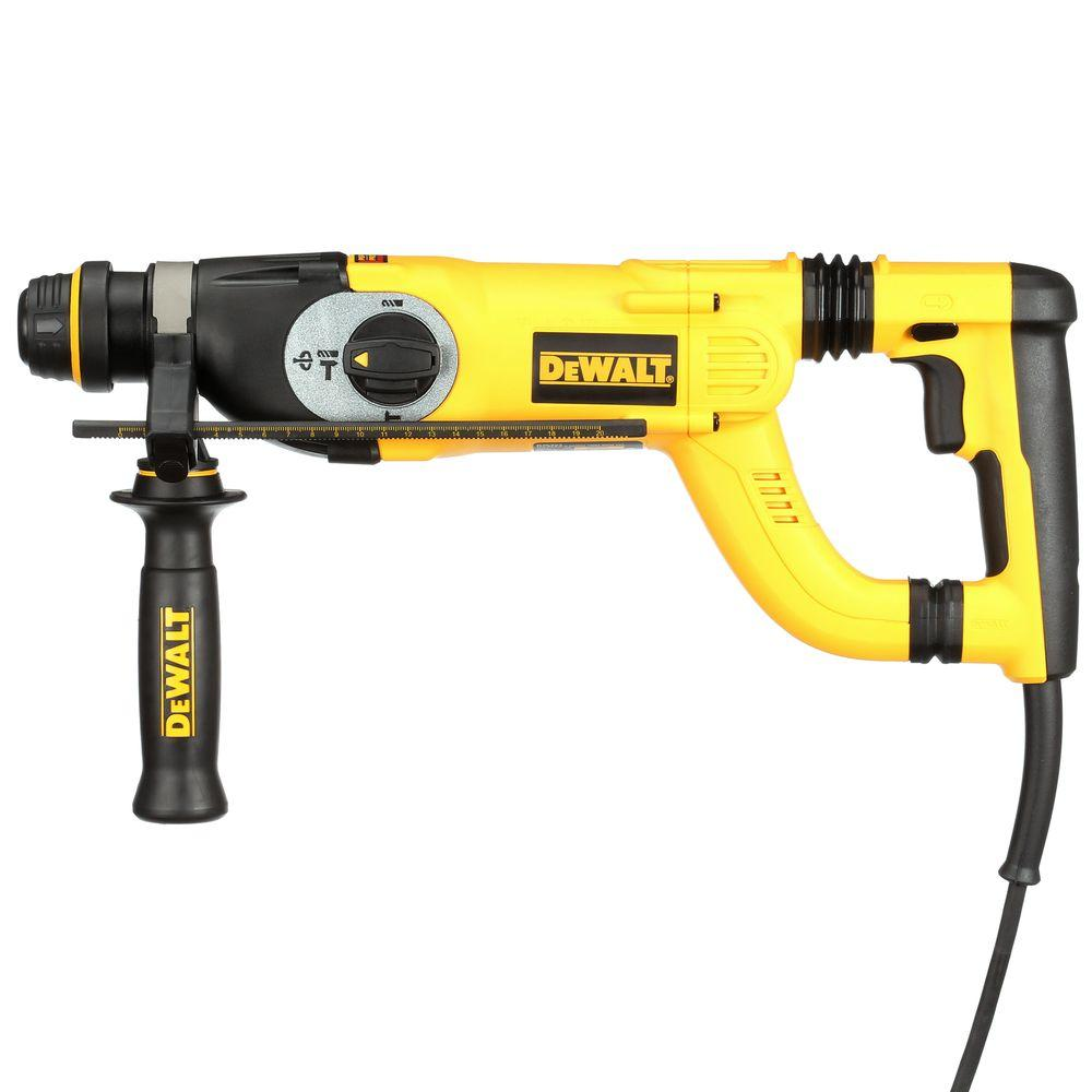 DEWALT 8 Amp 1 in. Corded SDS-plus D-Handle Concrete/Masonry Rotary Hammer with SHOCKS and Case