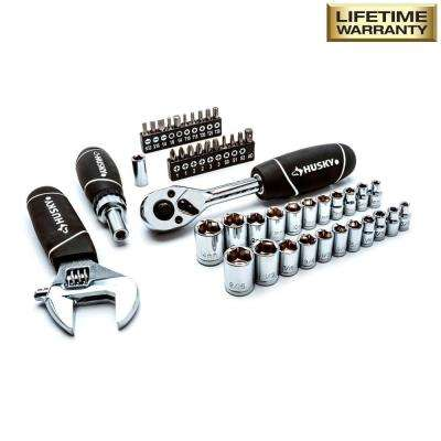 Stubby Set with Extendable Ratchet (46-Piece)