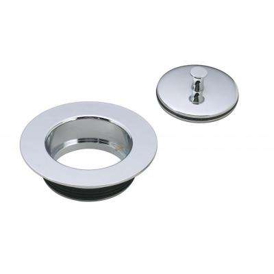 Universal Replacement Disposal Flange and Stopper Polished Chrome