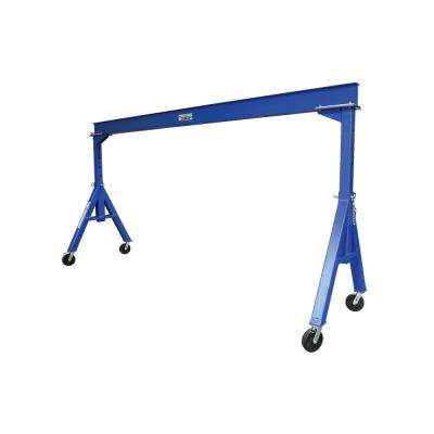 15 ft. x 12 ft. 4000 lb. Adjustable Height Steel Gantry Crane