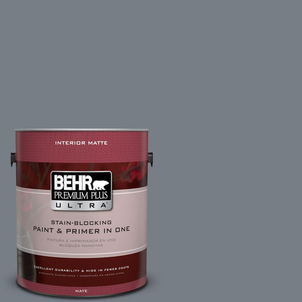 1 gal. #BNC-39 Peak Point Matte Interior Paint
