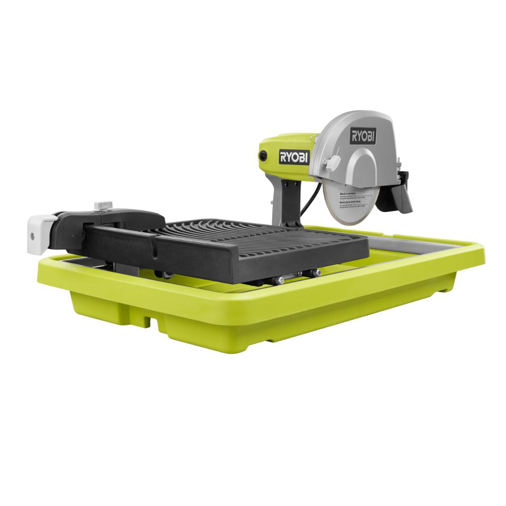 Ryobi 9 Amp Corded 7 In Overhead Wet Tile Saw