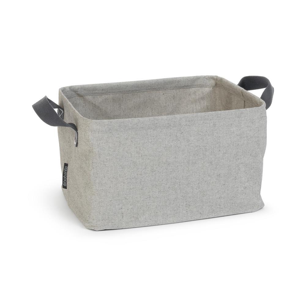 9.2 Gal. (35L) Gray Foldable Laundry Basket
