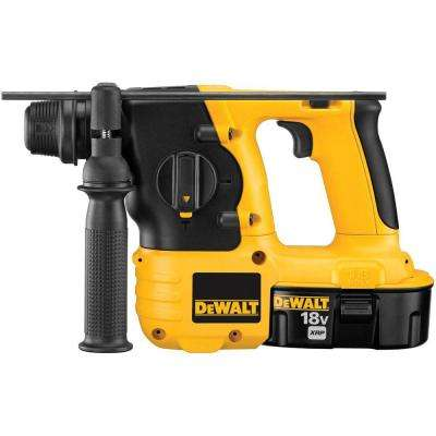 18-Volt NiCd Cordless 7/8 in. SDS Hammer with (2) Batteries 2.4Ah, 1-Hour Charger and Case