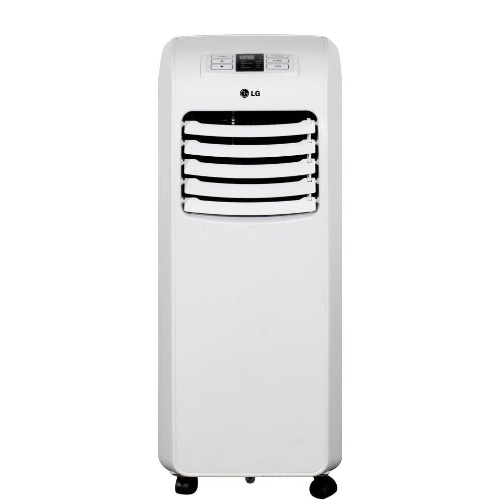 LG Electronics 8,000 BTU Portable Air Conditioner With  Dehumidifier LP0815WNR   The Home Depot