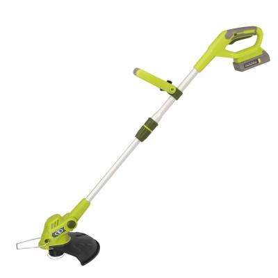 2 Amp 20-Volt Cordless Electric String Trimmer and Edger
