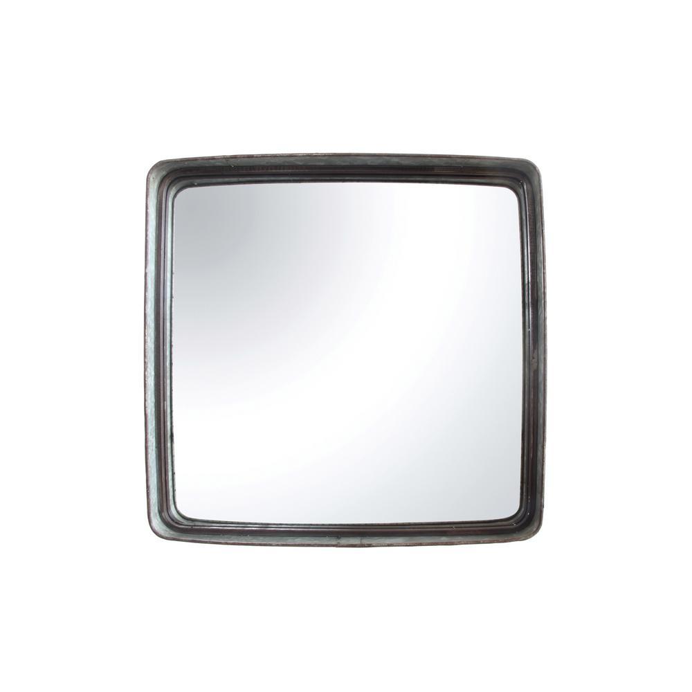 Square Iron Decorative Mirror