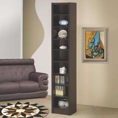 Hopkins Cappuccino Bookcase