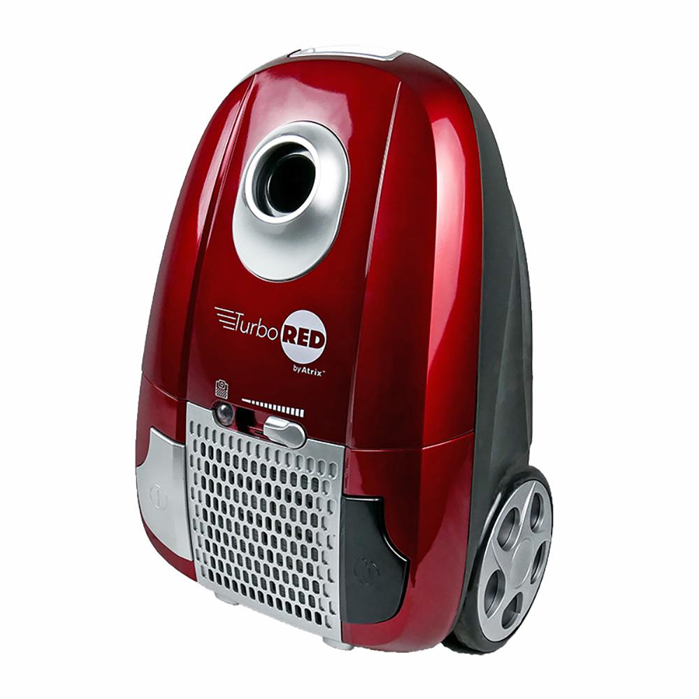 Atrix International Canister HEPA Vacuum Cleaner in Red