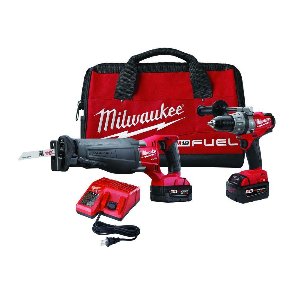 Milwaukee M18 FUEL 18-Volt Brushless Lithium-Ion Hammer