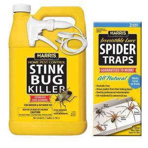 Harris 1 gal. Stink Bug Killer and Spider Trap Value Pack by Harris