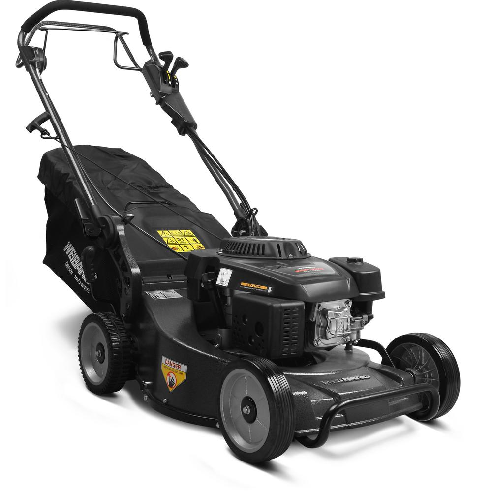 Weibang 21 In 196cc 4 Stroke Loncin Shaft Driven Engine Gas Aluminum Deck Commercial Self Propelled Walk Behind Mower
