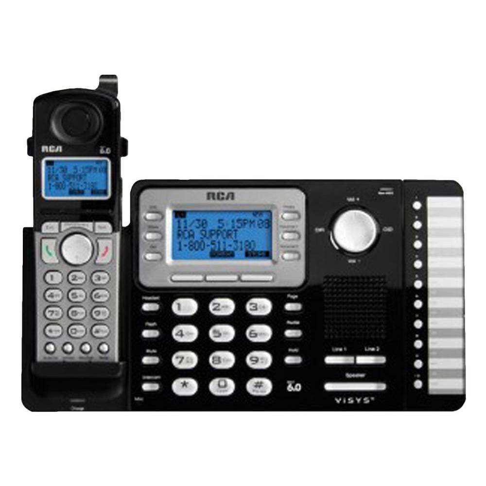 Dect 6.0+ 2-Line Cordless Expandable Phone