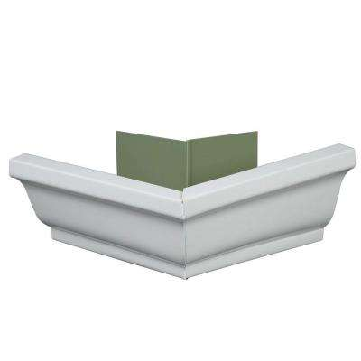 6 in. Aluminum Outside Gutter Mitre