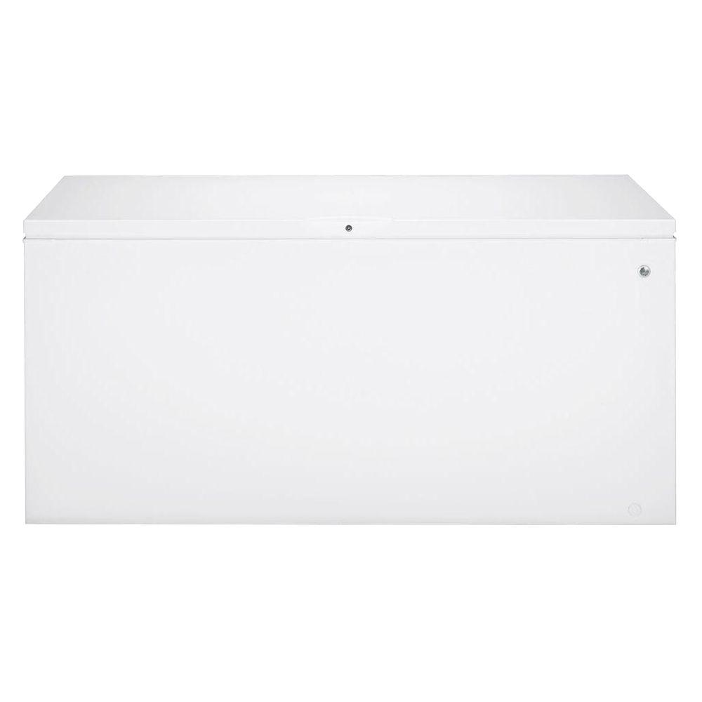 GE 19.7 cu. ft. Chest Freezer in White