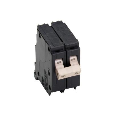 CH Series 3/4 in. 120/240 VAC 80 Amp Double-Pole Circuit Breaker