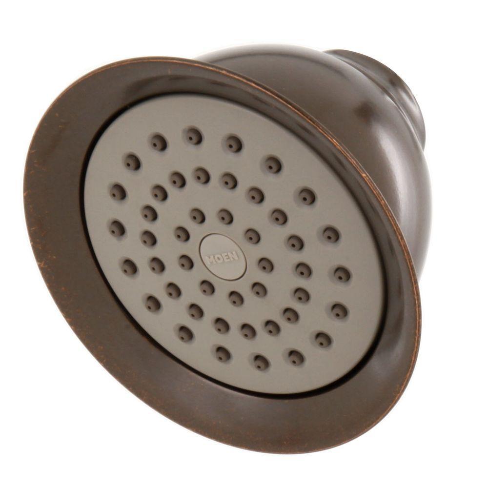 moen xl 1spray 438 in showerhead in oil