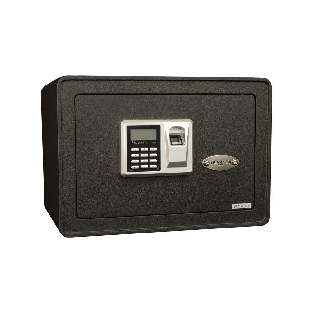 Tracker 0.817 cu. ft. All Steel Security Safe with Biomet...