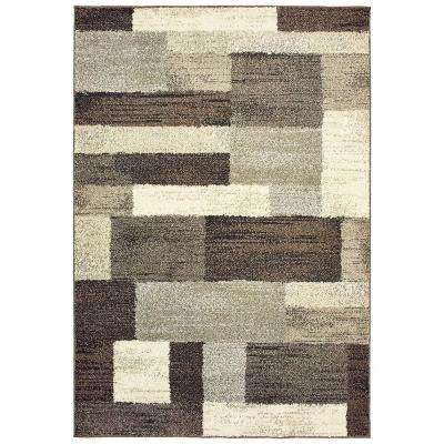 Asher Brown 2 ft. x 3 ft. Area Rug