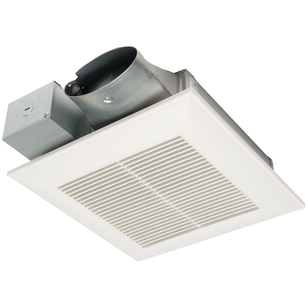 Panasonic Whispervalue Dc Pick A Flow 50 80 Or 100 Cfm Ceiling Or Wall Very Low Profile