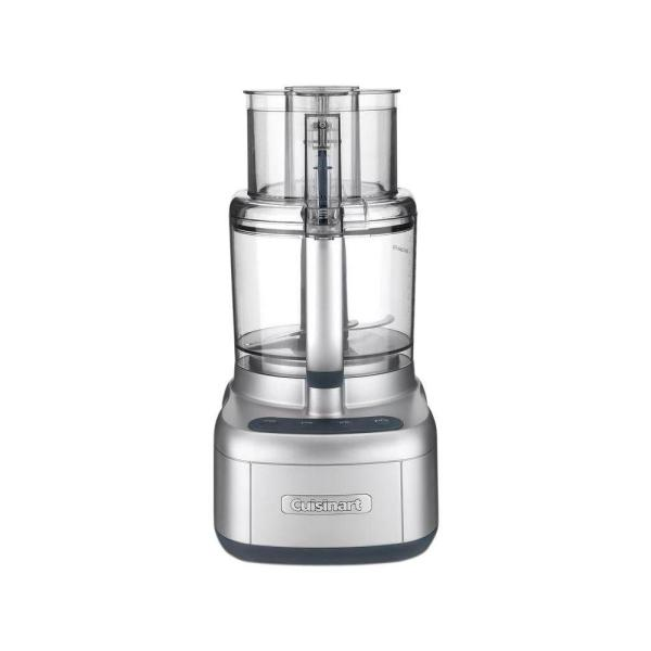 Cuisinart Elemental 11-Cup Silver Food Processor with See-Through Lid FP11SV