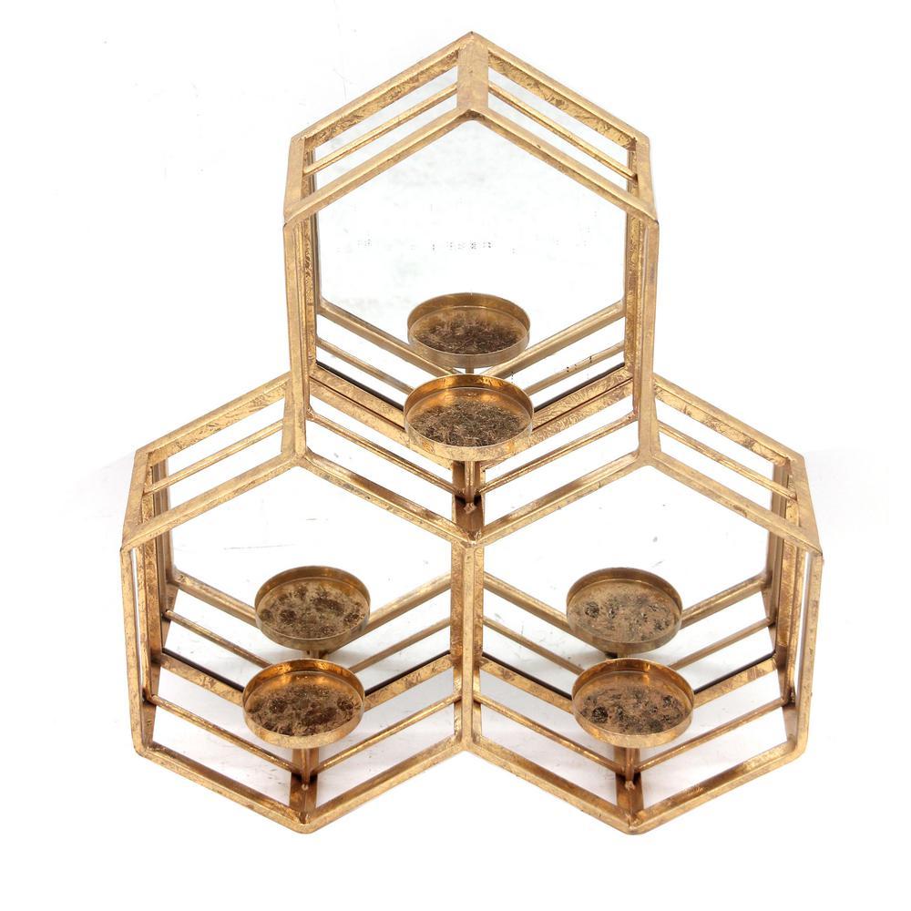 Vigo Gold Wall Mirror