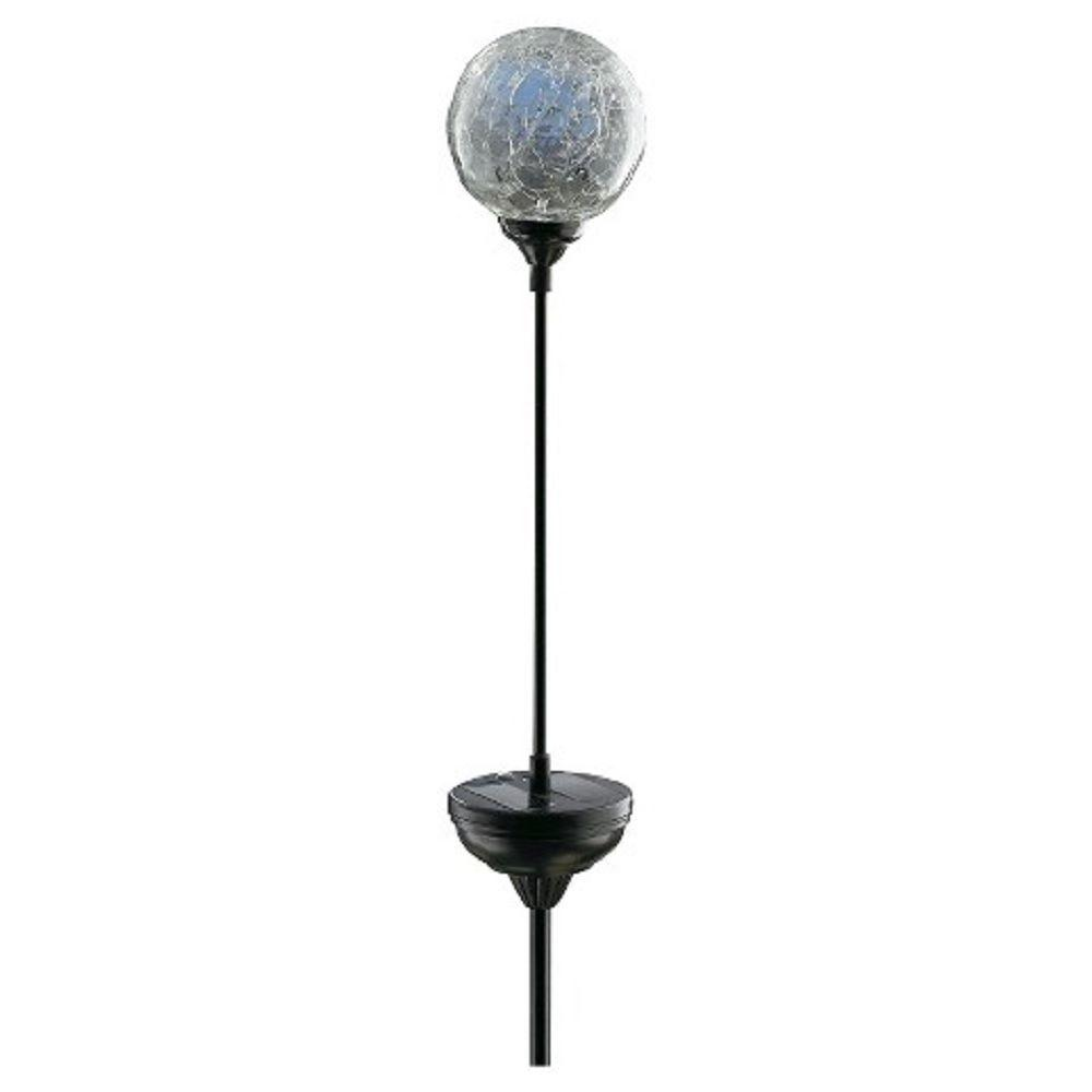 Deck Impressions Solar Power Crackle Ball Stake Light