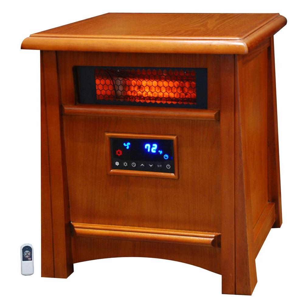 Lifesmart Zone 1500 Watt 8 Element Infrared Heater With