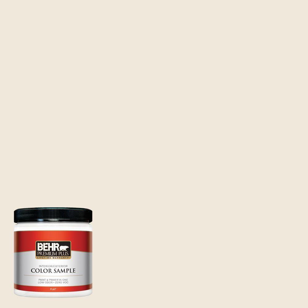 BEHR Premium Plus 8 oz. #PPL-50 Table Linen Interior/Exterior Paint Sample