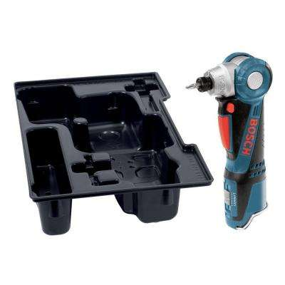 12 Volt Lithium-Ion Cordless 1/4 in. Variable Speed Right Angle Drill with Exact-Fit Insert Tray (Tool-Only)