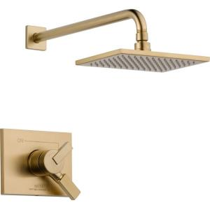 Vero 1-Handle Shower Only Faucet Trim Kit in Champagne Bronze (Valve Not Included)