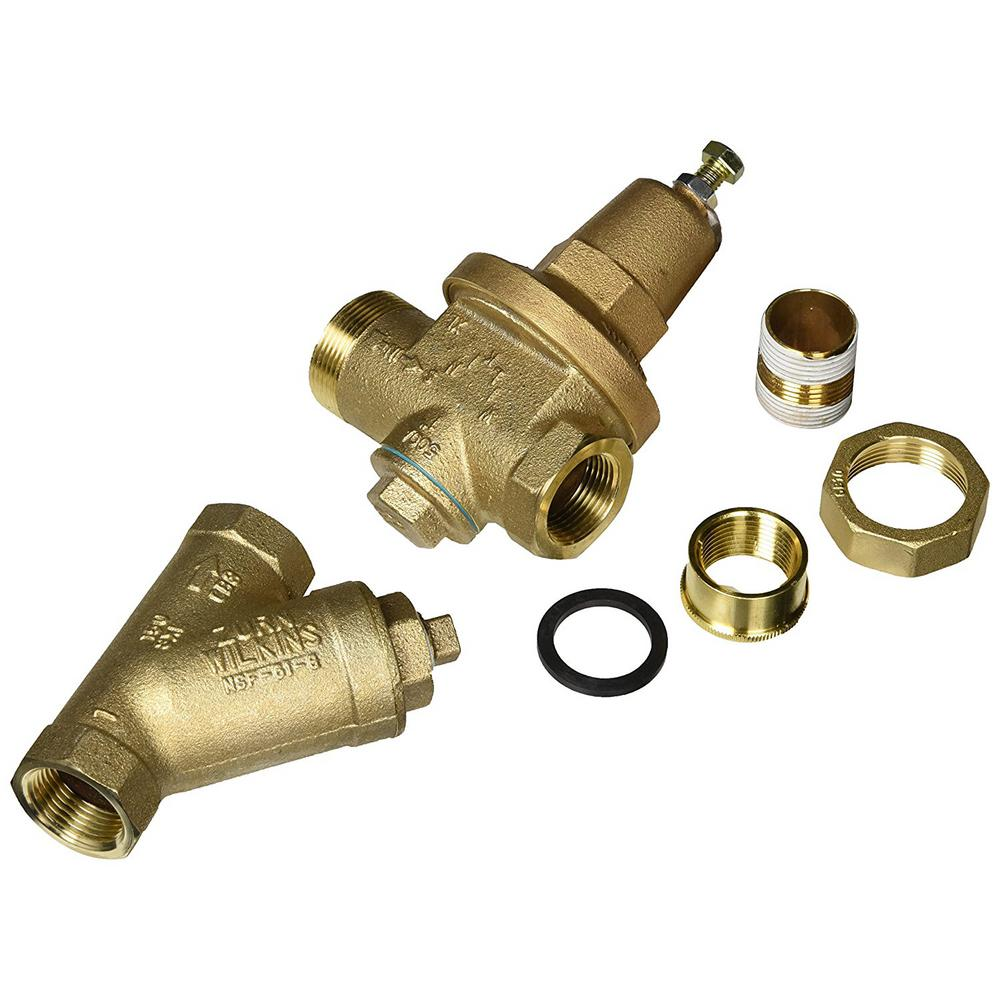 1 in. No Lead FNPT Union Pressure Reducing Valve
