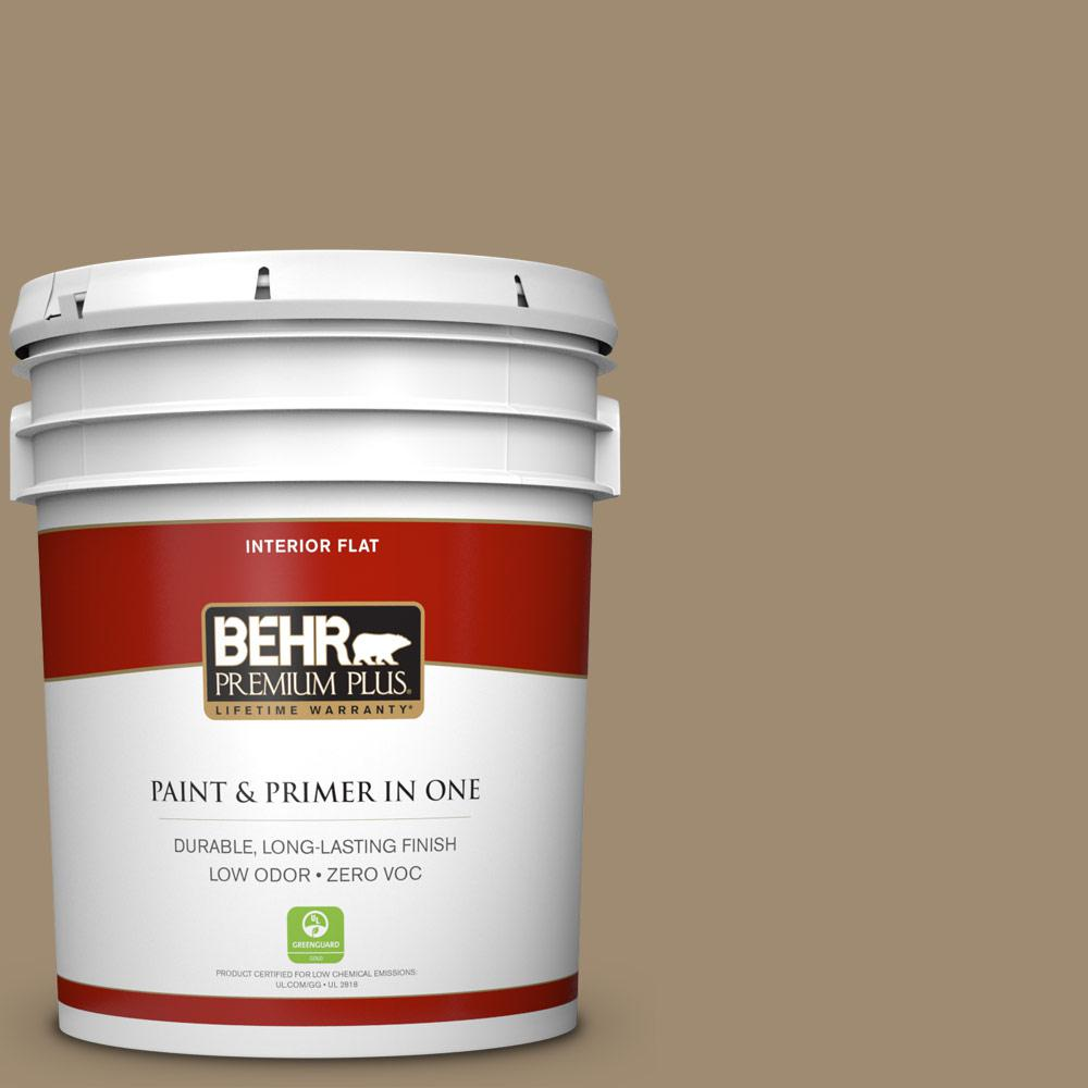 BEHR Premium Plus 5-gal. #T14-17 Archivist Flat Interior Paint