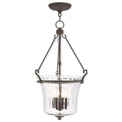 Cortland 2-Light Bronze Pendant