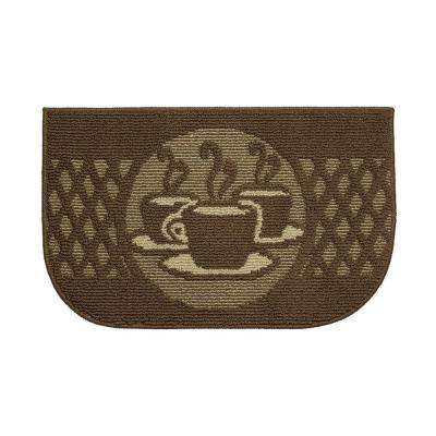 Day Time Coffee 18 in. x 30 in. Kitchen Rug