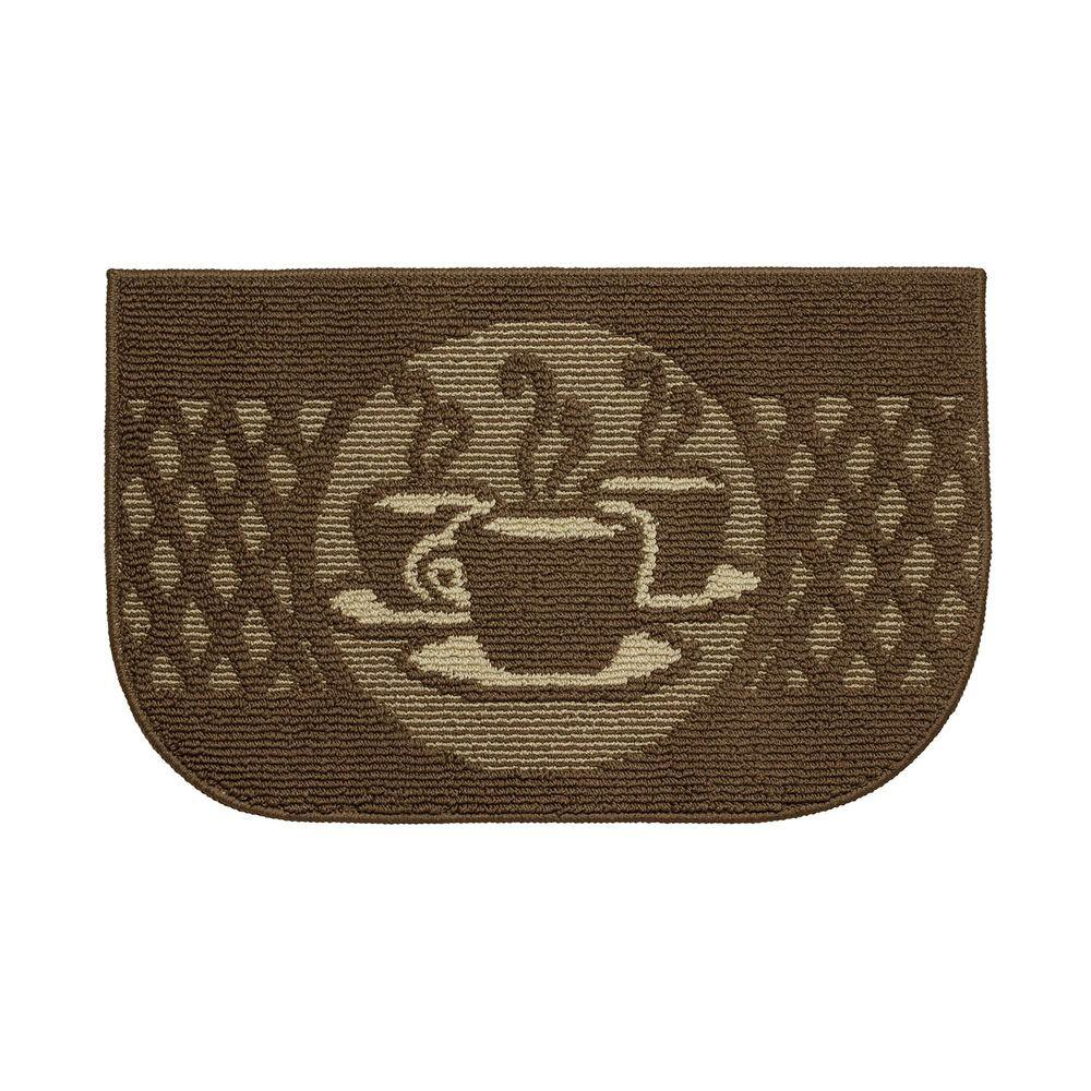 Structures Day Time Coffee 18 In X 30 Kitchen Rug