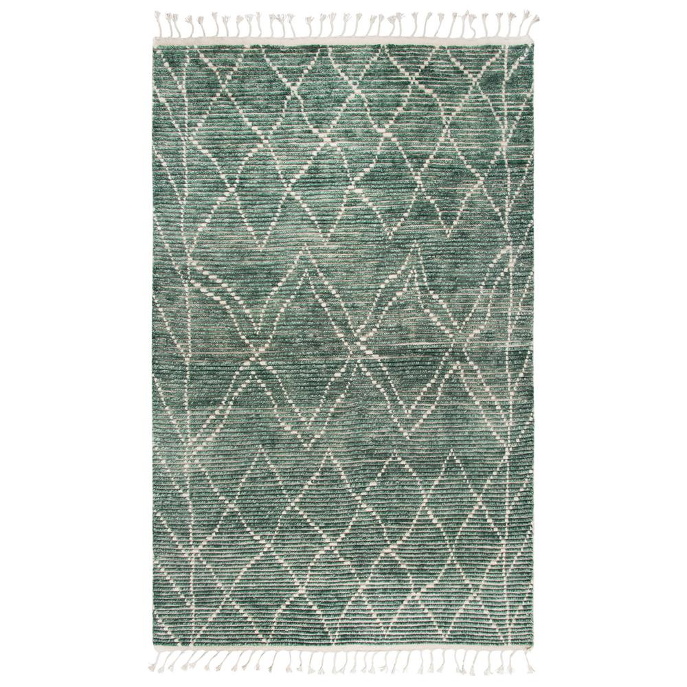 Rizzy home berkley teal green geometric 8 ft 9 in x 11 for Geometric print area rugs
