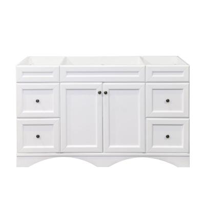 Talisa 60 in. W Bath Vanity Cabinet Only in White