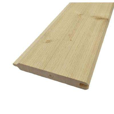 1 in. x 6 in. x 8 ft. Gorman Pine Tongue and Groove Siding (6-Pack)