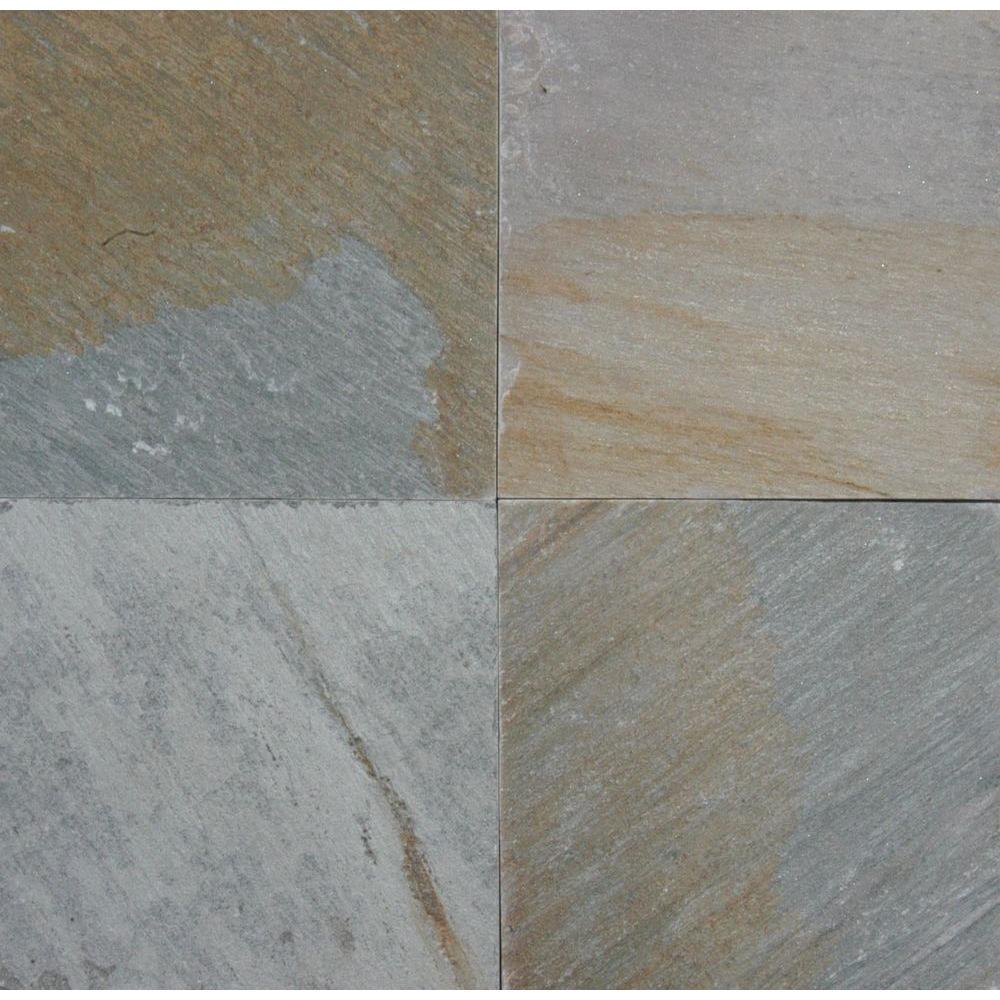 Horizon Quartzite 24 in. x 24 in. Gauged Quartzite Floor and Wall Tile
