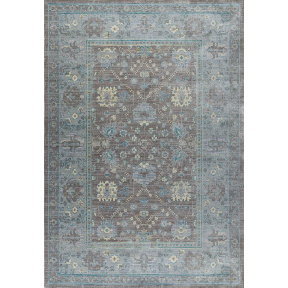 Tayse Rugs Heritage Taupe 7 Ft 10 In X 9 Ft 10 In Area