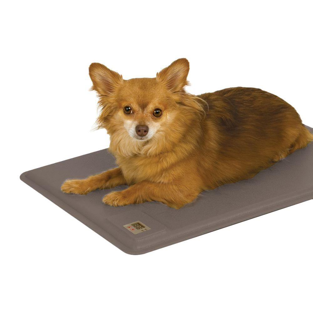 Lectro-Kennel Deluxe Small Gray Heated Dog Pad
