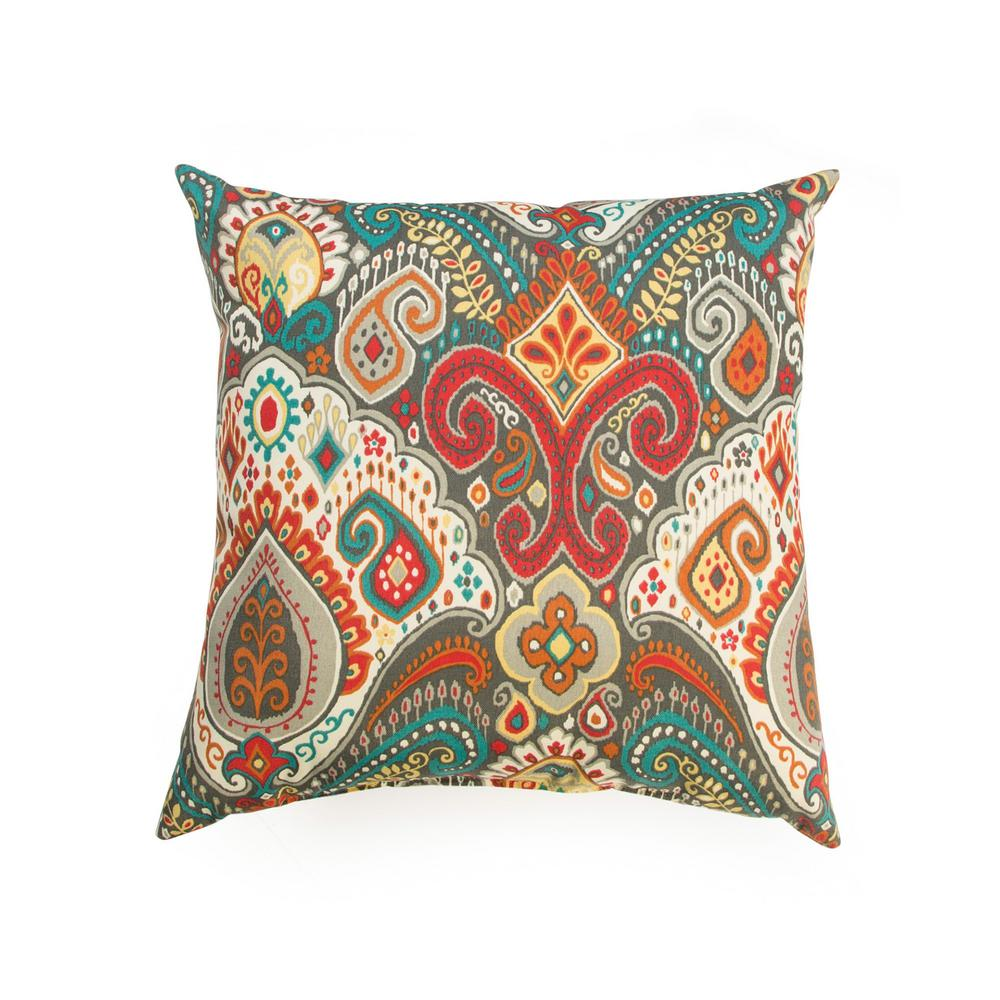 Asbury Park Square Outdoor Throw Pillow (2-Pack)