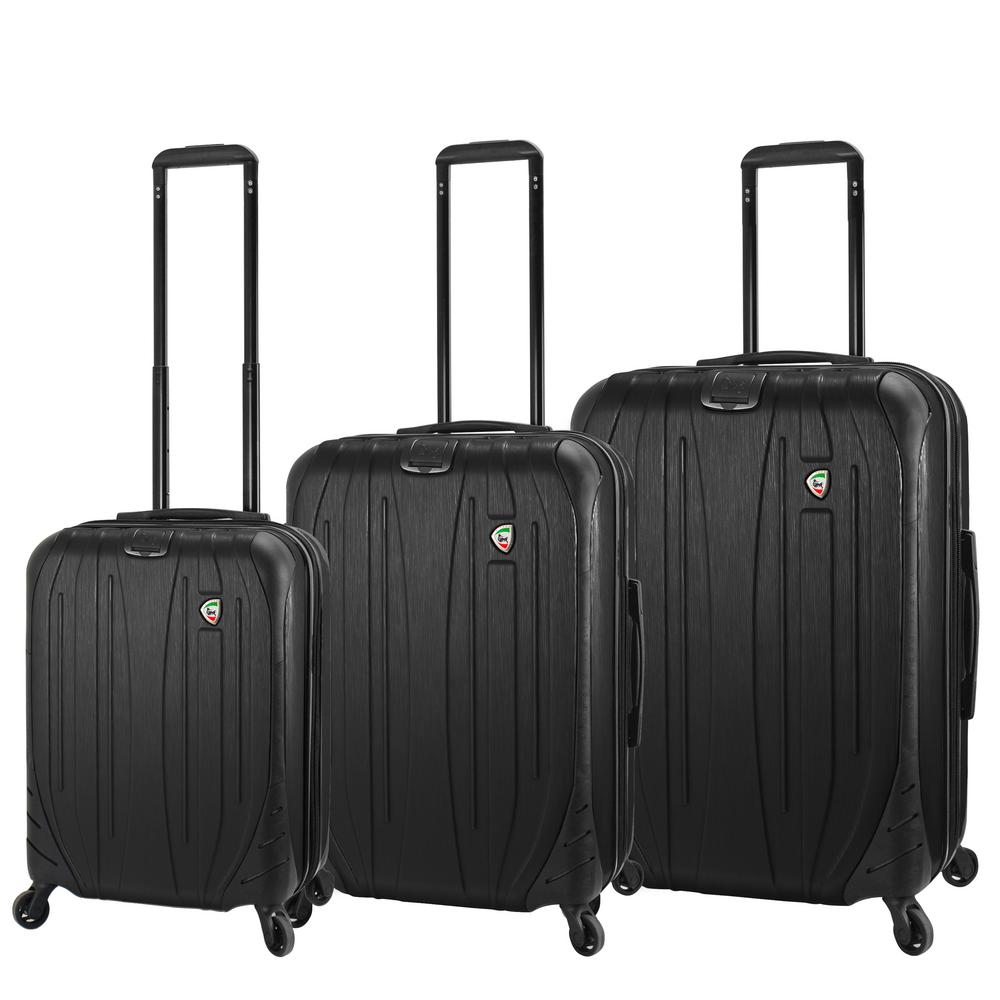 Ferro 3-Piece Graphite Hardside Spinner Luggage Set
