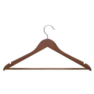 Genial Basic Suit Cherry Hanger With Non Slip Bar (8 Pack)