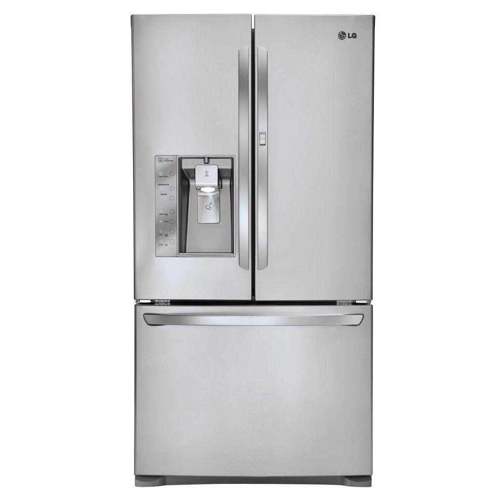 French Door Refrigerator With In