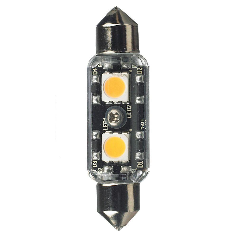 Ambiance 24-Volt LED Clear Festoon Lamp (3000K)