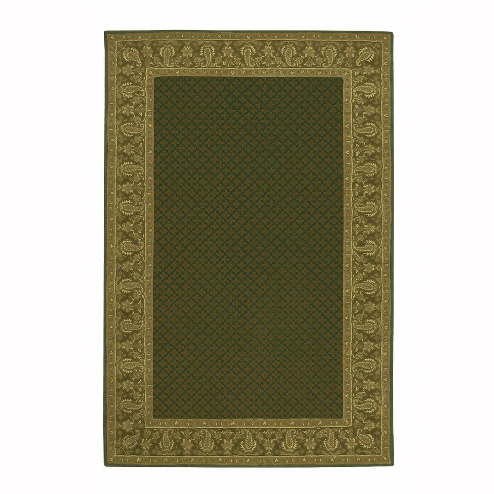 Home decorators collection lichi dark green 5 ft 3 in x for Home decorators jules rug