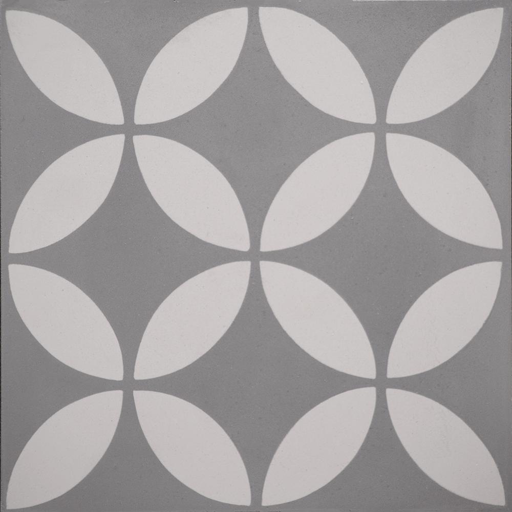 Indesign cementine piper gray 8 in x 8 in ceramic floor and wall indesign cementine piper gray 8 in x 8 in ceramic floor and wall tile dailygadgetfo Choice Image